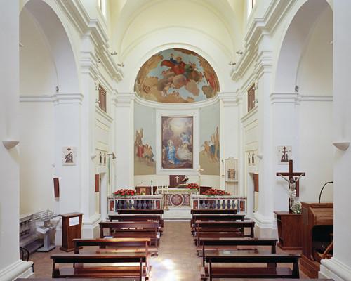 Interno Della Chiesa Di Borgo Montello