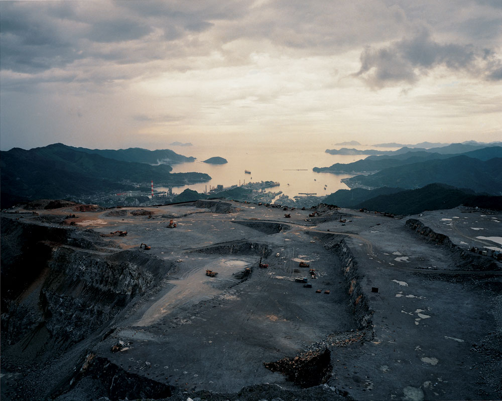 Naoya Hatakeyama - Lime Hills - Quarry Series - #27403 1989