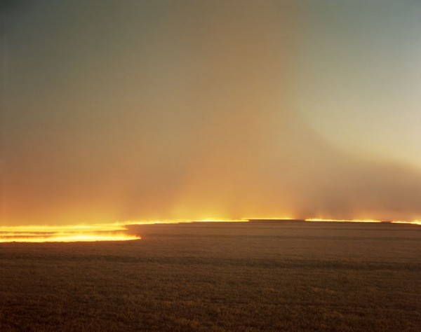 Richard Misrach - Desert Fire -1985